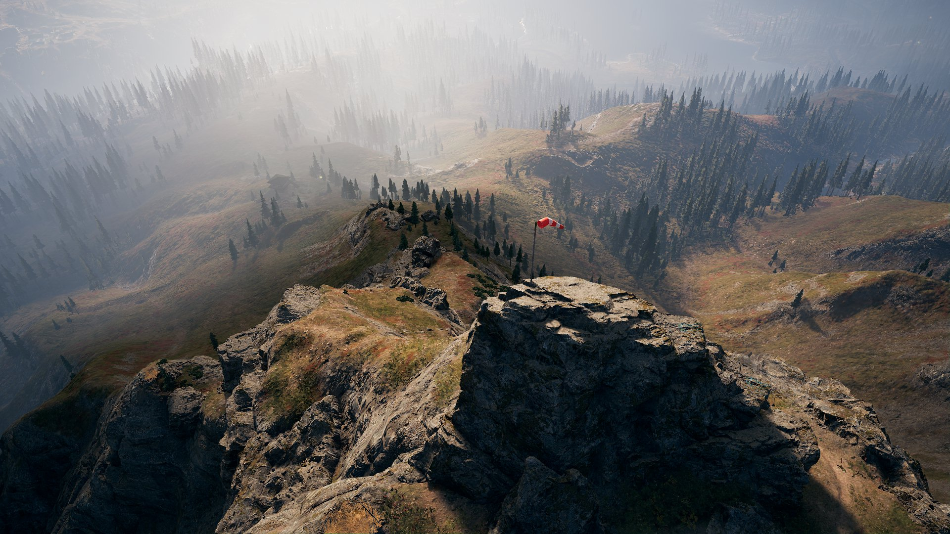 Farcry5 panorama doliny